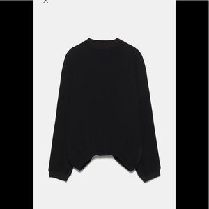 New with tags Zara full sleeve high collar blouse